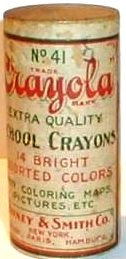 Prang Water Color crayon