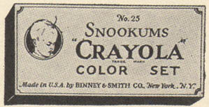 Crayola Snookums Color Set No 25 - 12 colors