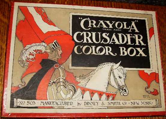 Crayola Crusader Color Box No 503