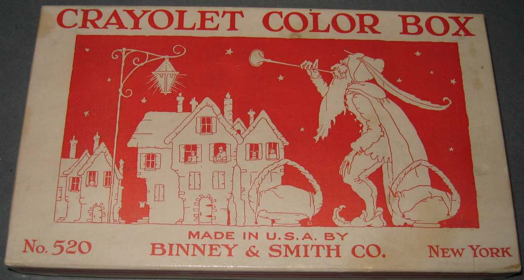 Crayolet Color Box No 520 - 16 colors