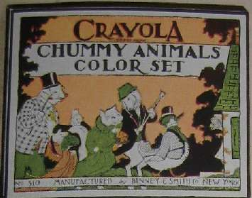 Crayola Chummy Animals Color Set - 5 colors