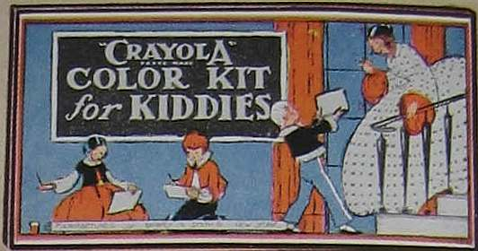 Crayola Color Kit for Kiddies - 4 colors