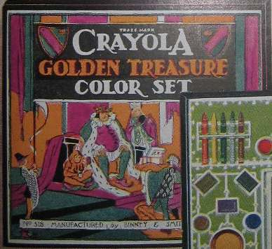Crayola Golden Treasure Color Set - 10 colors