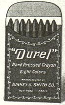 Durel No 210 (ornate border) - 8 colors