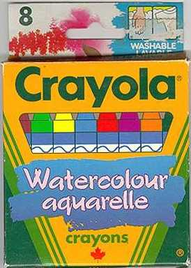 Crayola Watercolour - 8 colors