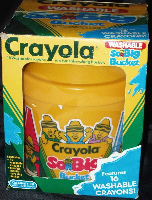 Crayola So Big Bucket (Washable) - 16 colors
