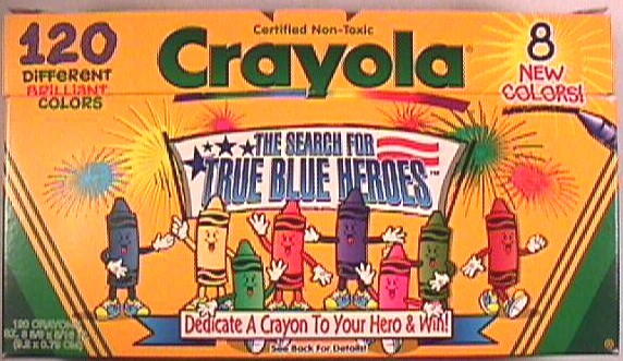 Crayola No 120 (True Blue) - 120 colors