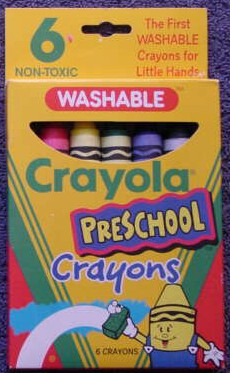 Crayola Preschool Washable - 6 colors
