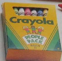Crayola People Pack (wavy) - 16 colors