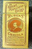 Rubens Crayola No 24 (left USA) - 24 colors
