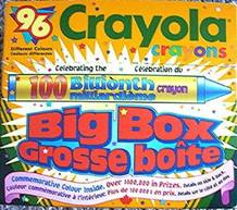 Crayola No 96 (100 Billionth Grosse Boite) - 96 colors