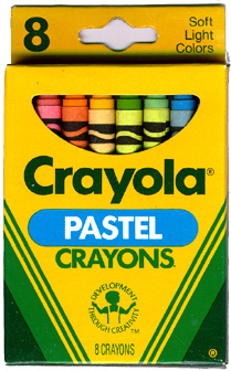 Crayola Pastel (DTC) - 8 colors